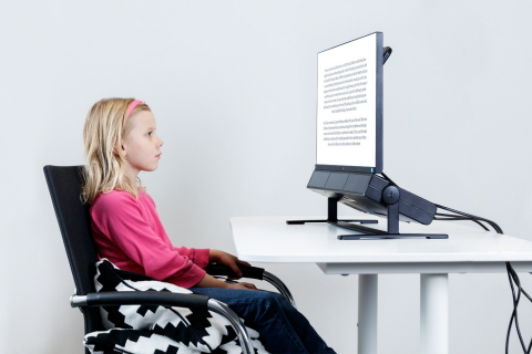 Reading Research with Tobii Pro Spectrum Eye Tracker