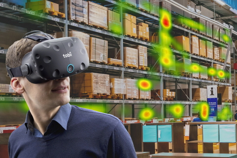 Eye Tracking in VR for research and analysis