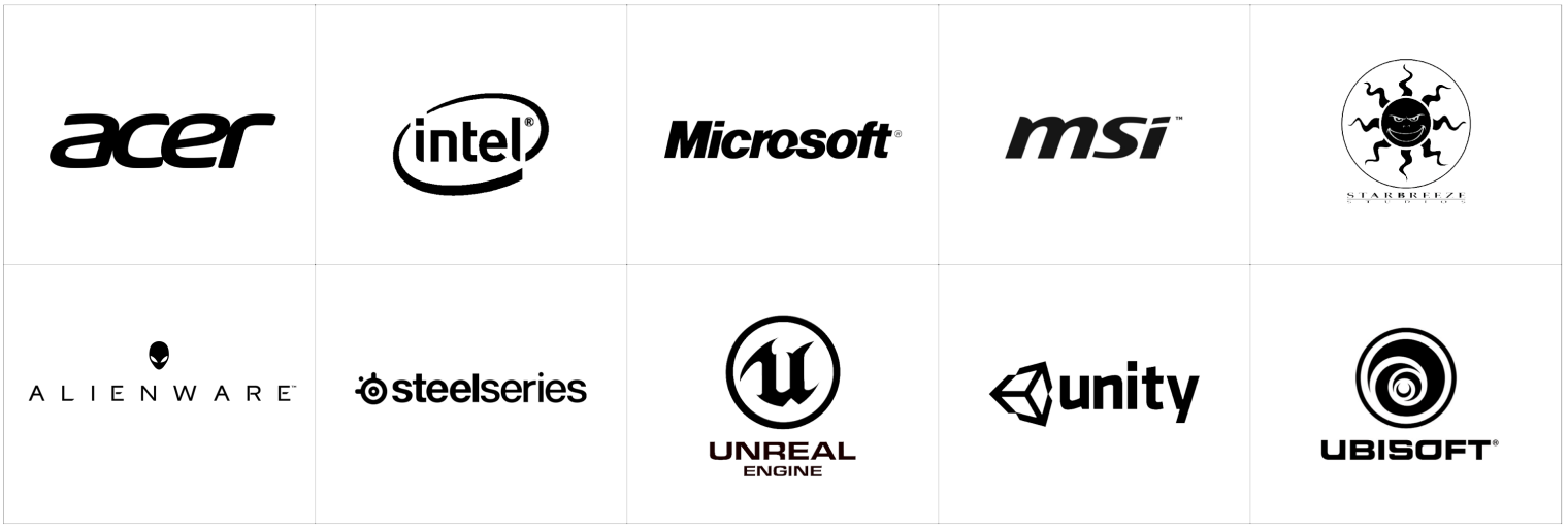 Tobii Tech partner logos
