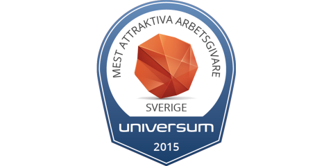 Universum top employer Sweden 2015