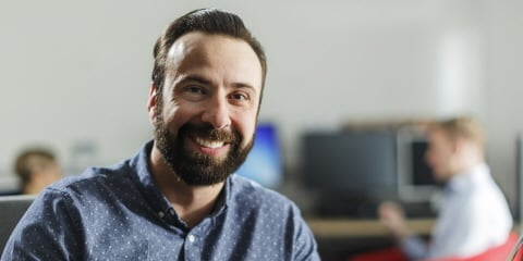Ali works as global business manager at Tobii Pro